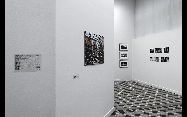 Vues partielles de l'exposition « Vie et espaces – Fragments d'un écart » ©CRP/