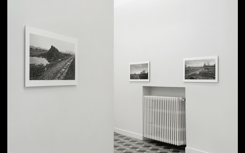 Vues partielles de l'exposition « Paris-Roubaix »