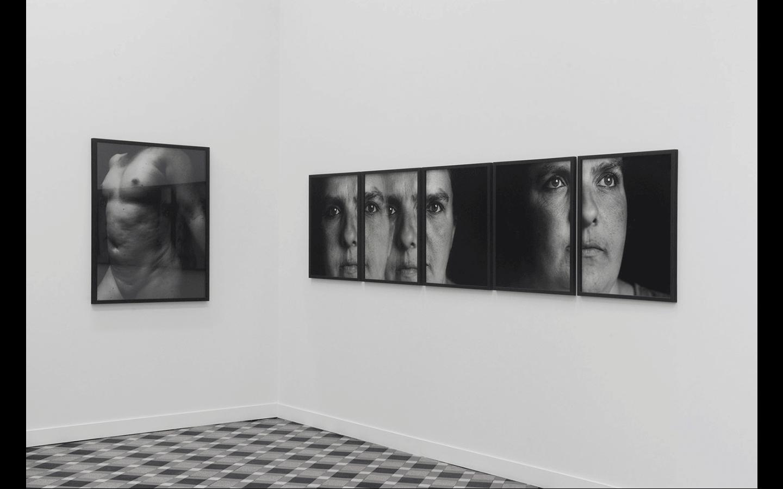 Vues partielles de l'exposition « Humaine »