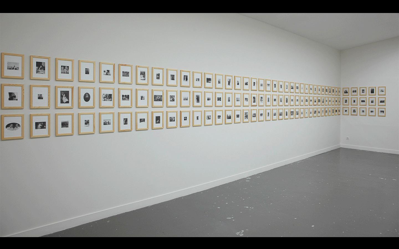 Vue partielle de l'exposition « Using Images »