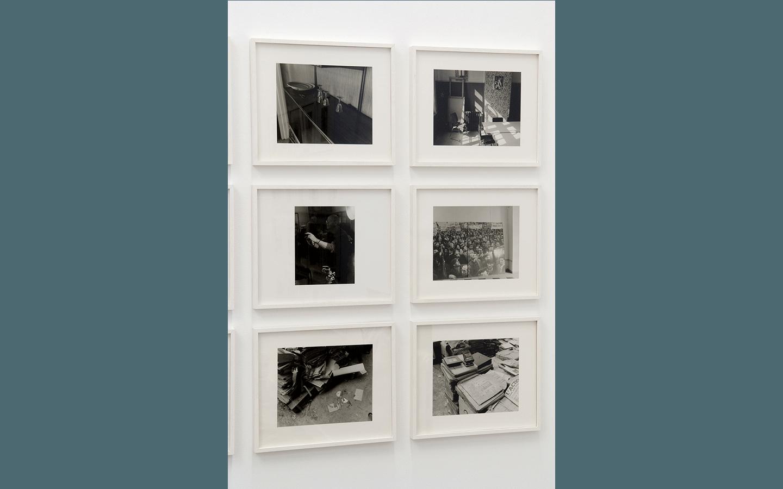Vue partielle de l'exposition « Renaissance, Scènes de la reconversion industrielle dans le bassin minier du Nord — Pas-de-Calais»
