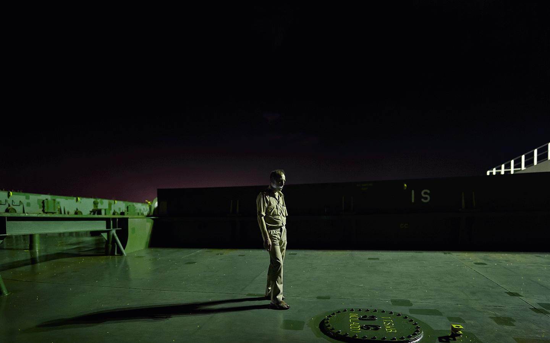 Evangelia Kranioti, The Unfinished trip to China, 2012, 82 x 108 cm,