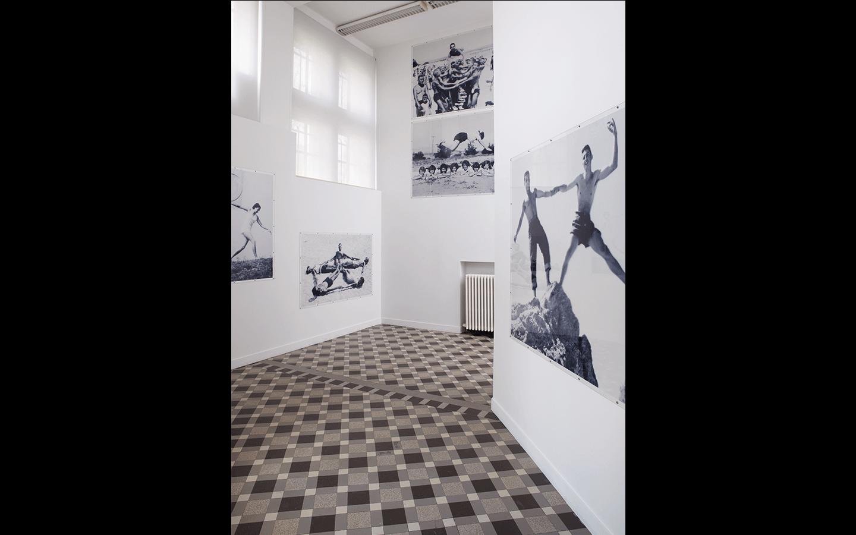 Vues partielles de l'exposition «  Volet 1 : Images déployées »