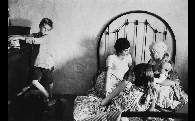 Dityvon, Scène familiale, Saint Emilion, 1972