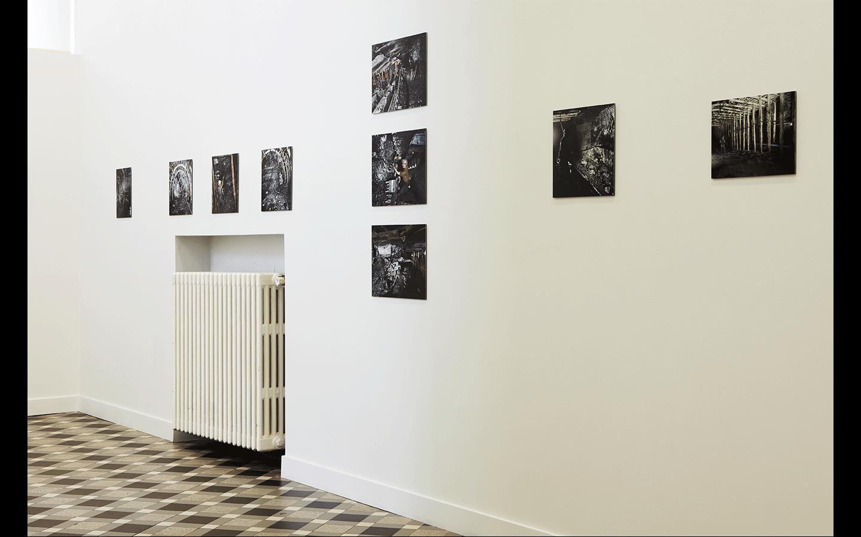 Vues partielles de l'exposition « La Mine en oeuvre 1890-1990. L'homme et l'industrie minière dans le Nord – Pas-de-Calais »