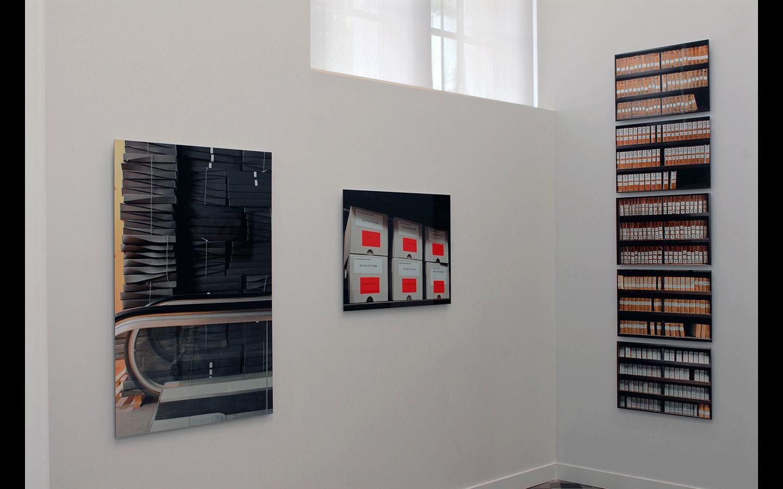Vues partielles de l'exposition « Rotondifolia »
