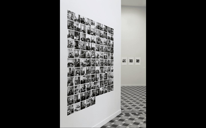 Vues partielles de l'exposition « Lieux de vie »