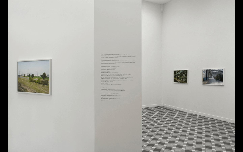 Vues partielles de l'exposition « Il fait jour »