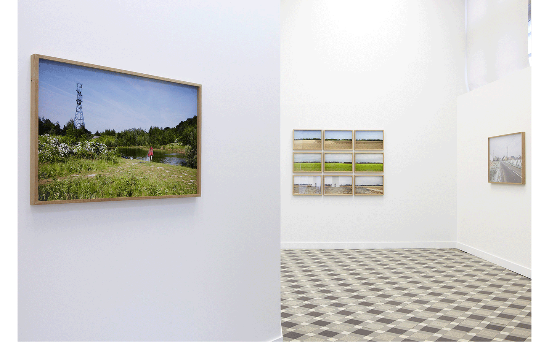 Vues partielles de l'exposition « Variations paysagères » ©Frédéric Delesalle