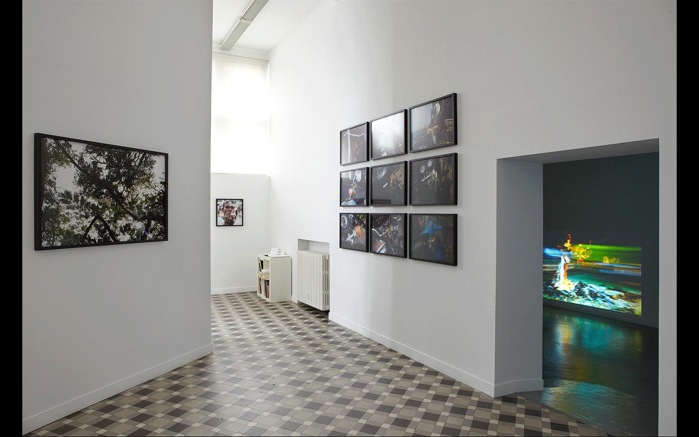 Vue partielle de l'exposition « Backstage »