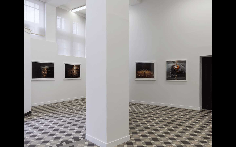 Vue partielle de l'exposition « Les Feux d'Ulysse »