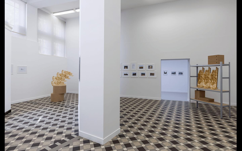 Vue partielle de l'exposition