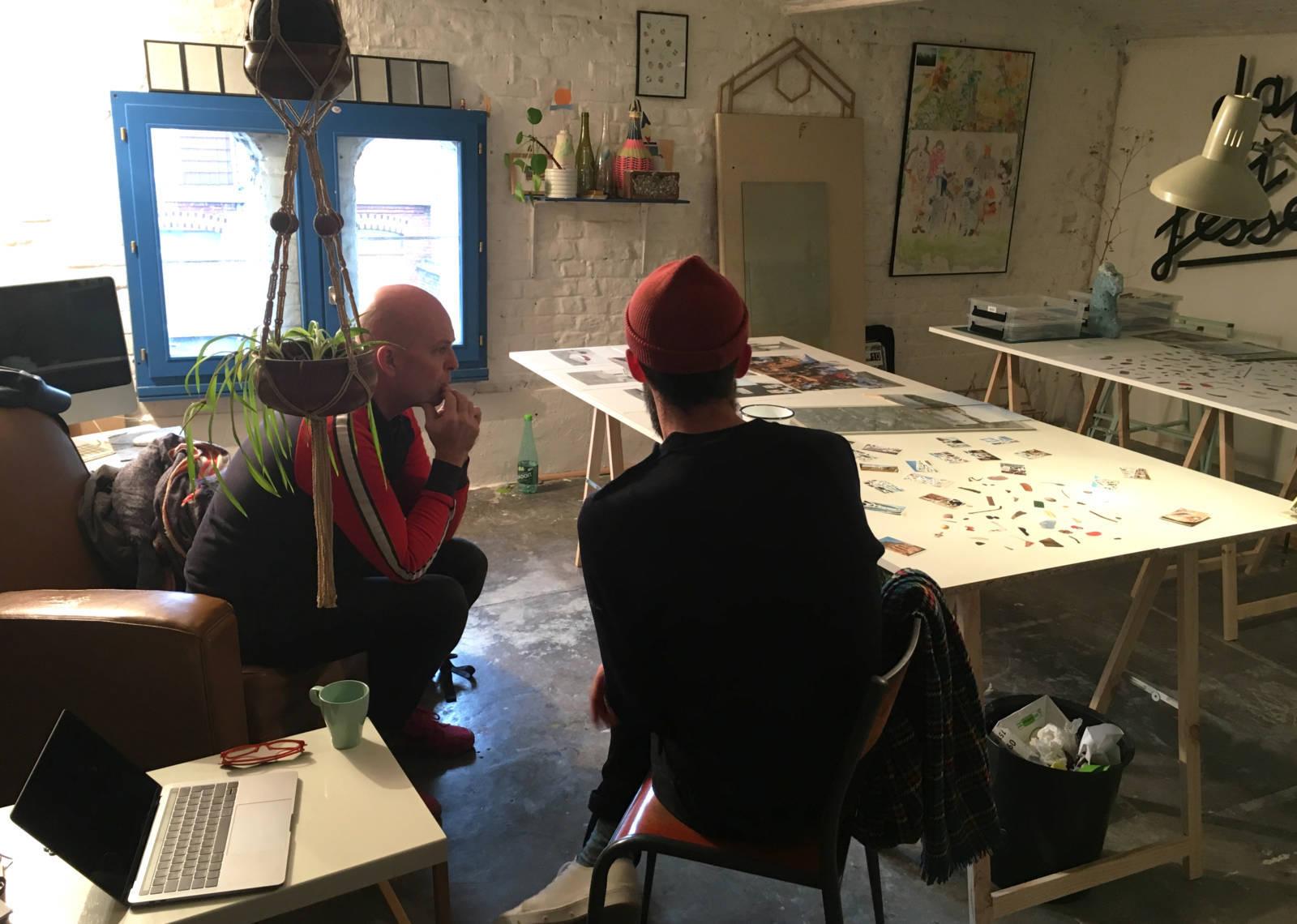 art face to face / Visites d'ateliers d'artistes dans les Hauts-de-France