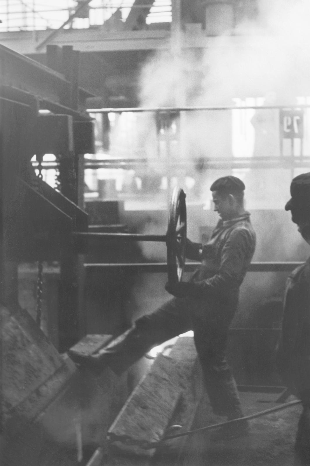 « Merlebach », Sans titre, 1958 © Jean Marquis